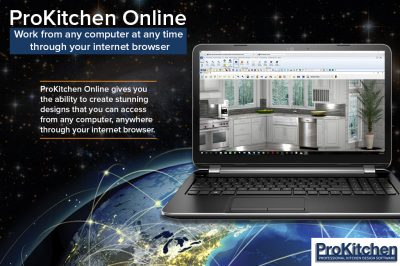 ProKitchen-Online 9 work from any computer anytime