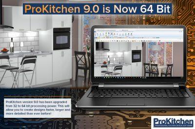 ProKitchen-Online 9.0 is now 64 bit