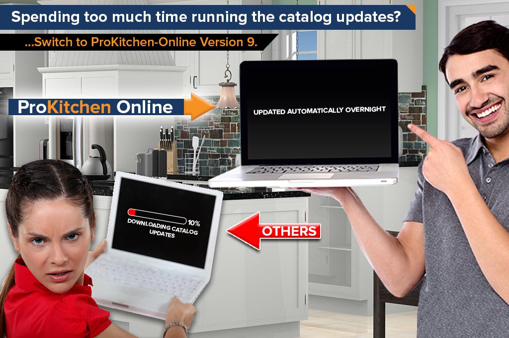 ProKitchen-Online 9 Instant Calalog Updates