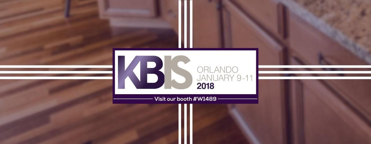 Meet us at KBIS 2018
