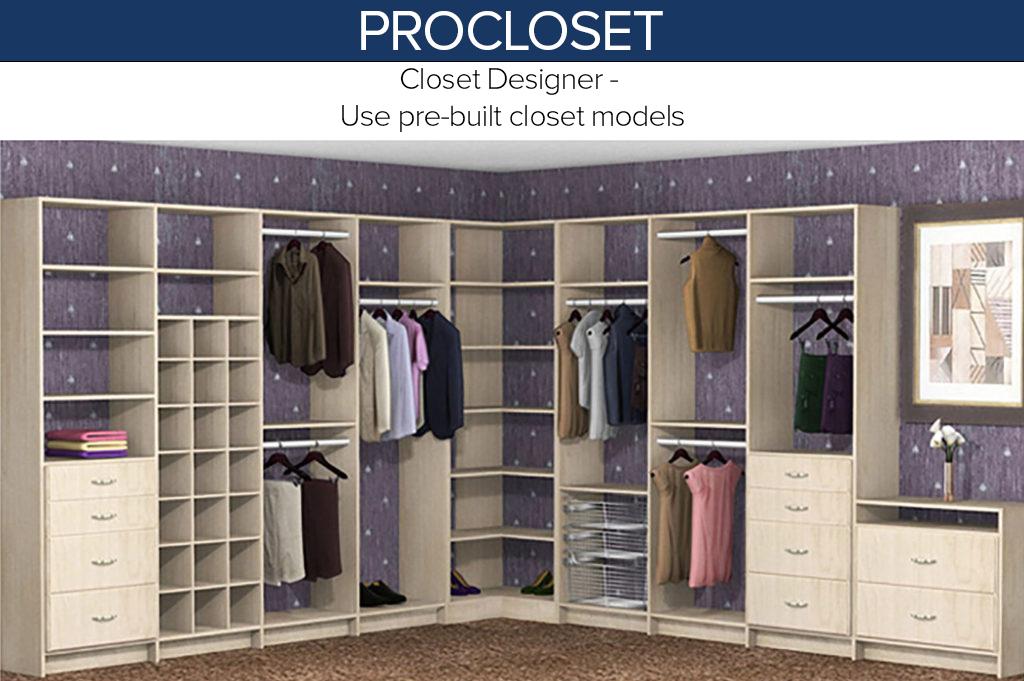 Build Your Next Closet Design With ProCloset!