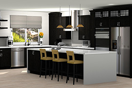 Kitchen design in ProKitchen Software