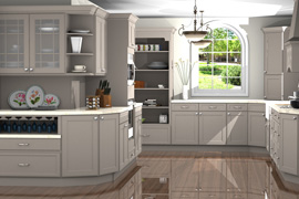 Kitchen Design made in ProKitchen Software