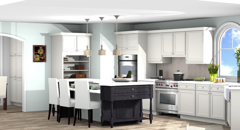Kitchen design with ProKitchen Software