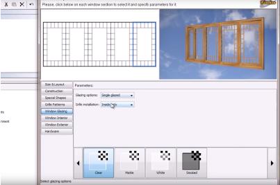 Architectural 3D Window Details