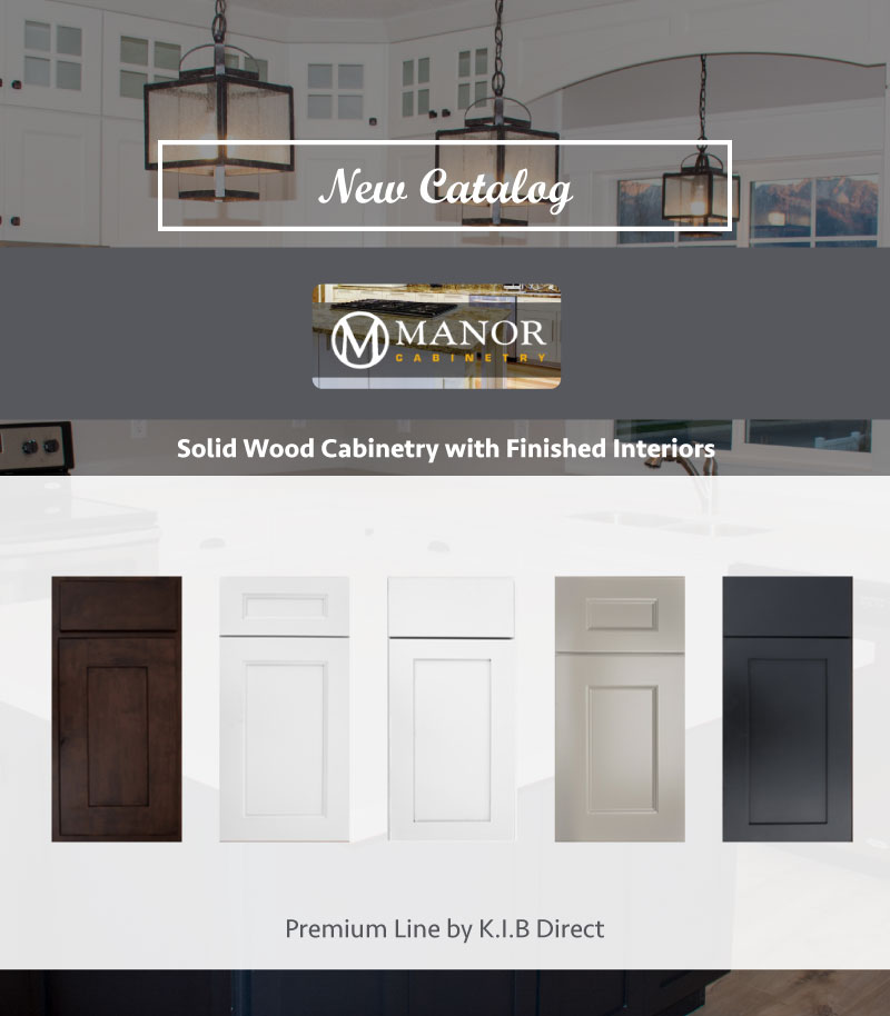 Cabinet Pro Software: New Catalog - Manor Cabinetry