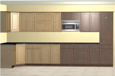 Multiple Cabinet Colors