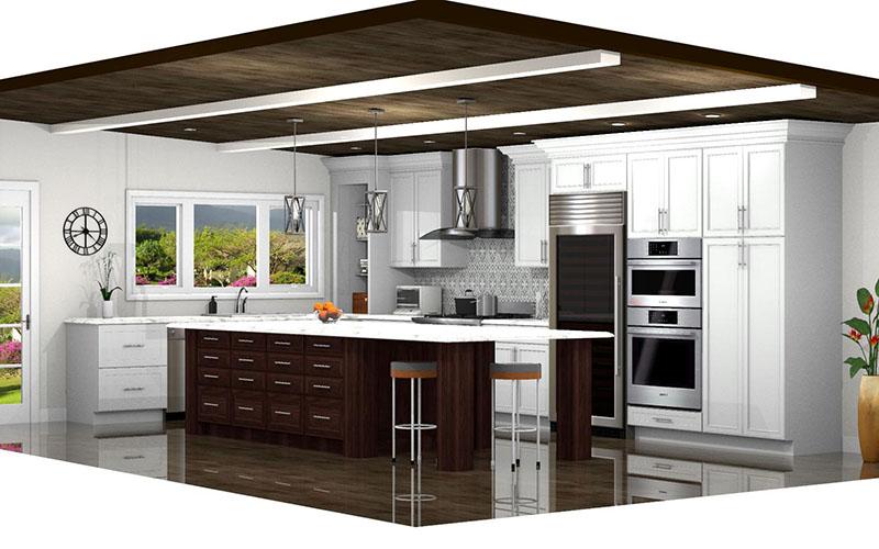 Rustic Kitchen in ProKitchen Software