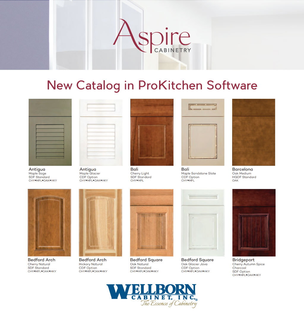 Software For Kitchen Design Free: New Catalog - Aspire Cabinetry
