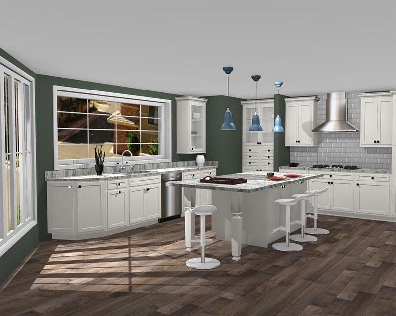 Aristokraft Kitchen rendered in ProKitchen Software