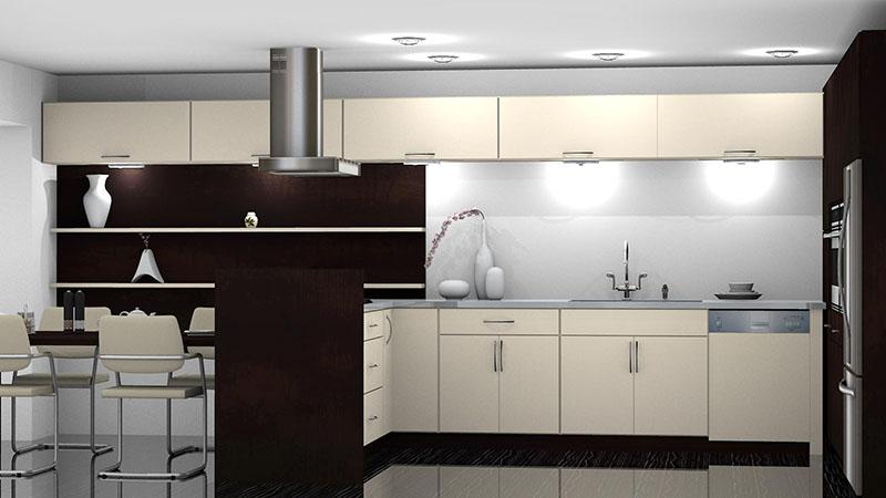 Kitchen Designed with Aristokraft Catalog in ProKitchen Software