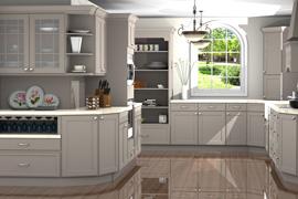 Homecrest Kitchen design with ProKitchen Software