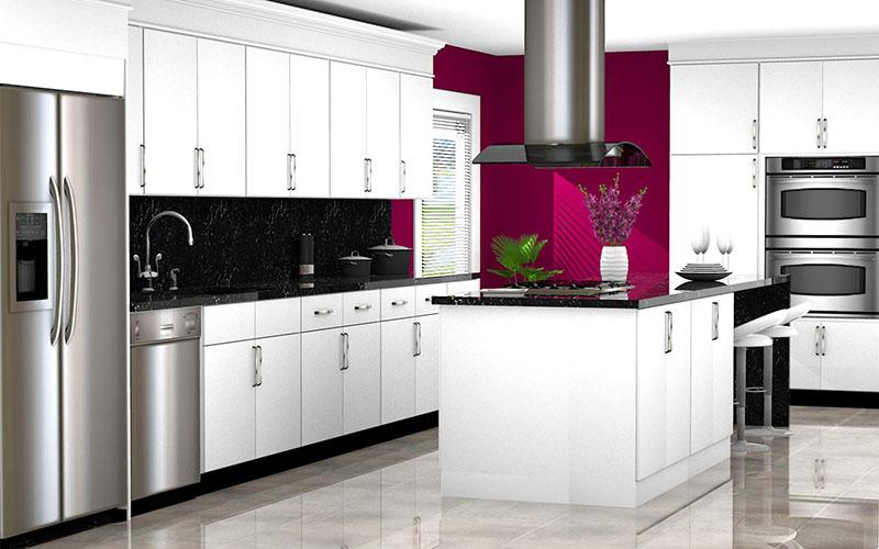 Kitchen Designed with Kemper Catalog in ProKitchen Software