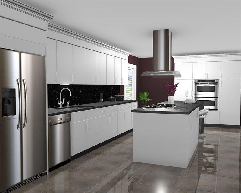 Kemper Kitchen rendered in ProKitchen Software
