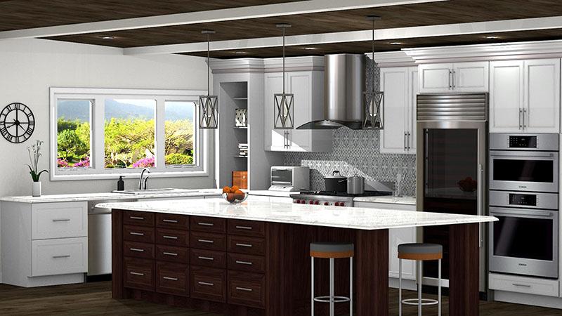 Rustic Kitchen Design in ProKitchen Software
