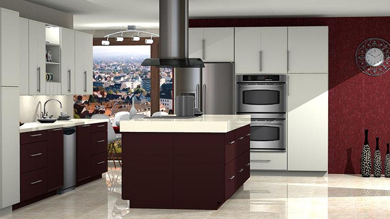 Kitchen Designed in ProKitchen Software