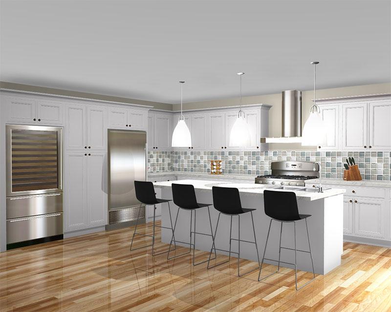 Shiloh Kitchen rendered in ProKitchen Software