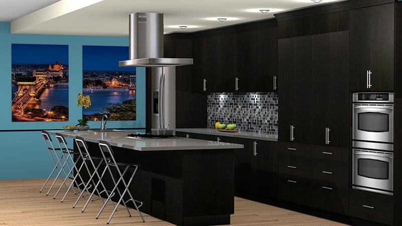 Kitchen Designed with Talora Catalog in ProKitchen Software