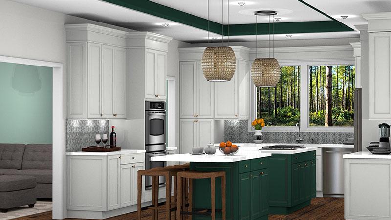 Traditional Kitchen Design in ProKitchen Software